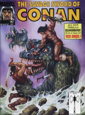 Savage Sword of Conan The Barbarian (The) (1974) -187- All New Thrills! Blood Bond! Plus a tale of Red Sonja!