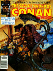 Savage Sword of Conan The Barbarian (The) (1974) -190- The Skull on the Seas! Part 1 of 4. The Legend of King Kull!
