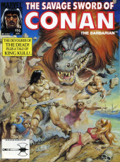 Savage Sword of Conan The Barbarian (The) (1974) -196- The Devourer of the Dead! Plus a tale of King Kull!