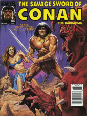 Savage Sword of Conan The Barbarian (The) (1974) -198- At the Mercy of the Soul Eaters