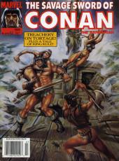 Savage Sword of Conan The Barbarian (The) (1974) -199- Treachery on Tortage! Plus a tale of King Kull