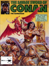 Savage Sword of Conan The Barbarian (The) (1974) -202- The Sword and the Scythe! Plus a tale of King Kull!