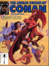 Savage Sword of Conan The Barbarian (The) (1974) -203- Demon's Blood