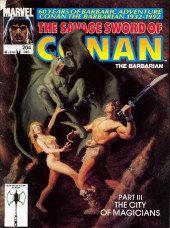 Savage Sword of Conan The Barbarian (The) (1974) -204- Part III - the City of Magicians