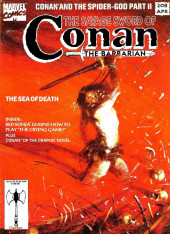 Savage Sword of Conan The Barbarian (The) (1974) -208- The Sea of Death