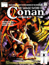 Savage Sword of Conan The Barbarian (The) (1974) -210- Death Comes Swiftly in the Cavern of the Spider God