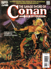 Savage Sword of Conan The Barbarian (The) (1974) -213- Conan Defies the Gods of the Mountain and Valeria Defies Death.