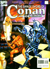 Savage Sword of Conan The Barbarian (The) (1974) -216- Mystery and Intrigue in the Court of the Crystal Queen