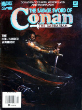 Savage Sword of Conan The Barbarian (The) (1974) -221- The hell handed warrior!