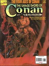 Savage Sword of Conan The Barbarian (The) (1974) -227- the Four Ages of Conan. From Conan the Boy to Conan the King.