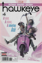 Hawkeye (2017) -6- A Case, A Chase, A Shooting Ace