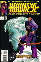 Couverture de Hawkeye (1994) -1- Shafted!