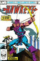 Hawkeye (1983) -1- The Avengers' Ace Archer-- On His Own... On a Rampage!