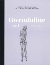 Les grands Classiques de la Bande Dessinée érotique - La Collection -9193- Gwendoline - Tome 1