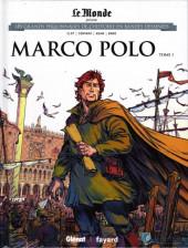 Les grands Personnages de l'Histoire en bandes dessinées -21- Marco Polo - Tome 1