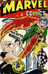 Marvel Mystery Comics (Timely - 1939) -80- The Mad Hatter Murders!