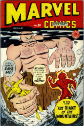 Marvel Mystery Comics (Timely - 1939) -90- The Giant of the Mountains!
