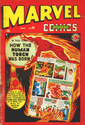 Marvel Mystery Comics (Timely - 1939) -92- How the Human Torch Was Born!
