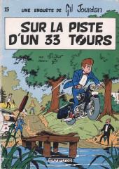 Gil Jourdan -15- Sur la piste d'un 33 tours