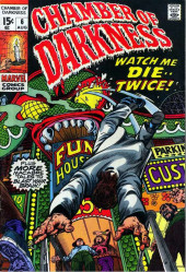 Chamber of Darkness (Marvel - 1969) -6- Watch Me Die-- Twice!