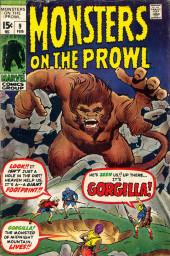 Monsters on the prowl (Marvel - 1971) -9- Gorgilla!