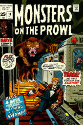 Monsters on the prowl (Marvel comics - 1971) -13- Tragg! He who stalks the Subway!