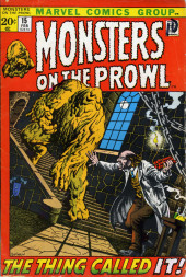 Monsters on the prowl (Marvel comics - 1971) -15- The Thing Called It!