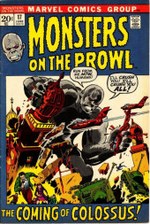 Monsters on the prowl (Marvel comics - 1971) -17- The Coming of Colossus!
