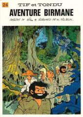 Tif et Tondu -24a1983- Aventure birmane