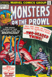 Monsters on the prowl (Marvel comics - 1971)