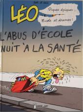 Léo et Lu -9- Piques épiques, écoles et drames... cours et cour et ras les blâmes !