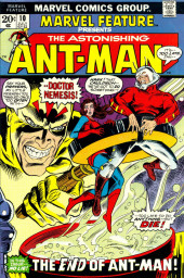 Marvel Feature Vol 1 (Marvel - 1971) -10- The End of Ant-Man!