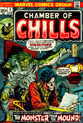 Chamber of Chills (Marvel - 1972) -2- The Monster from the Mound!