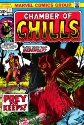 Chamber of Chills (Marvel - 1972) -7- Prey for Keeps!