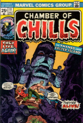 Chamber of Chills (Marvel - 1972) -11- The Things from Easter Island!