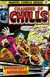 Chamber of Chills (Marvel - 1972) -20- Midnight in the Morgue!