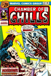 Chamber of Chills (Marvel - 1972) -22- With Each Dawn There Comes a Mourning's Madness!