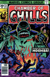 Chamber of Chills (Marvel - 1972) -25- He Haunts the Jungle Night -- Moomba!