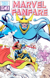 Couverture de Marvel Fanfare Vol. 1 (Marvel - 1982) -8- (sans titre)