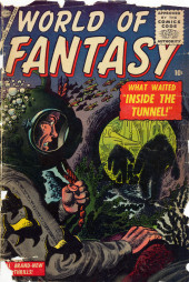 Couverture de World of Fantasy (Atlas - 1956) -2- Inside The Tunnel!