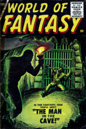 World of Fantasy (Atlas - 1956) -3- The Man in the Cave!