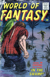 World of Fantasy (Atlas - 1956) -6- In The Swamp!