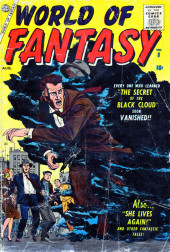 World of Fantasy (Atlas - 1956) -8- The Secret Of The Black Cloud