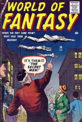 World of Fantasy (Atlas - 1956) -10- The Secret Men!