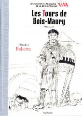 Les grands Classiques de la BD Historique Vécu - La Collection -4- Les Tours de Bois-Maury - Tome I : Babette