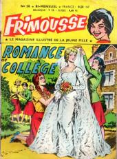 Frimousse -58- Romance au collège