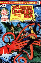 Marvel Classics Comics (Marvel - 1976) -4- 20,000 Leagues Under The Sea