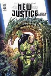 Justice League : New Justice -3- Retour au mur source
