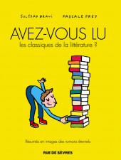 Avez-vous lu les classiques de la littérature ? -1- Avez-Vous Lu les Classiques de la Littérature ?