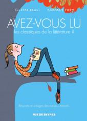 Avez-vous lu les classiques de la littérature ? -2- Avez-Vous Lu les Classiques de la Littérature ?